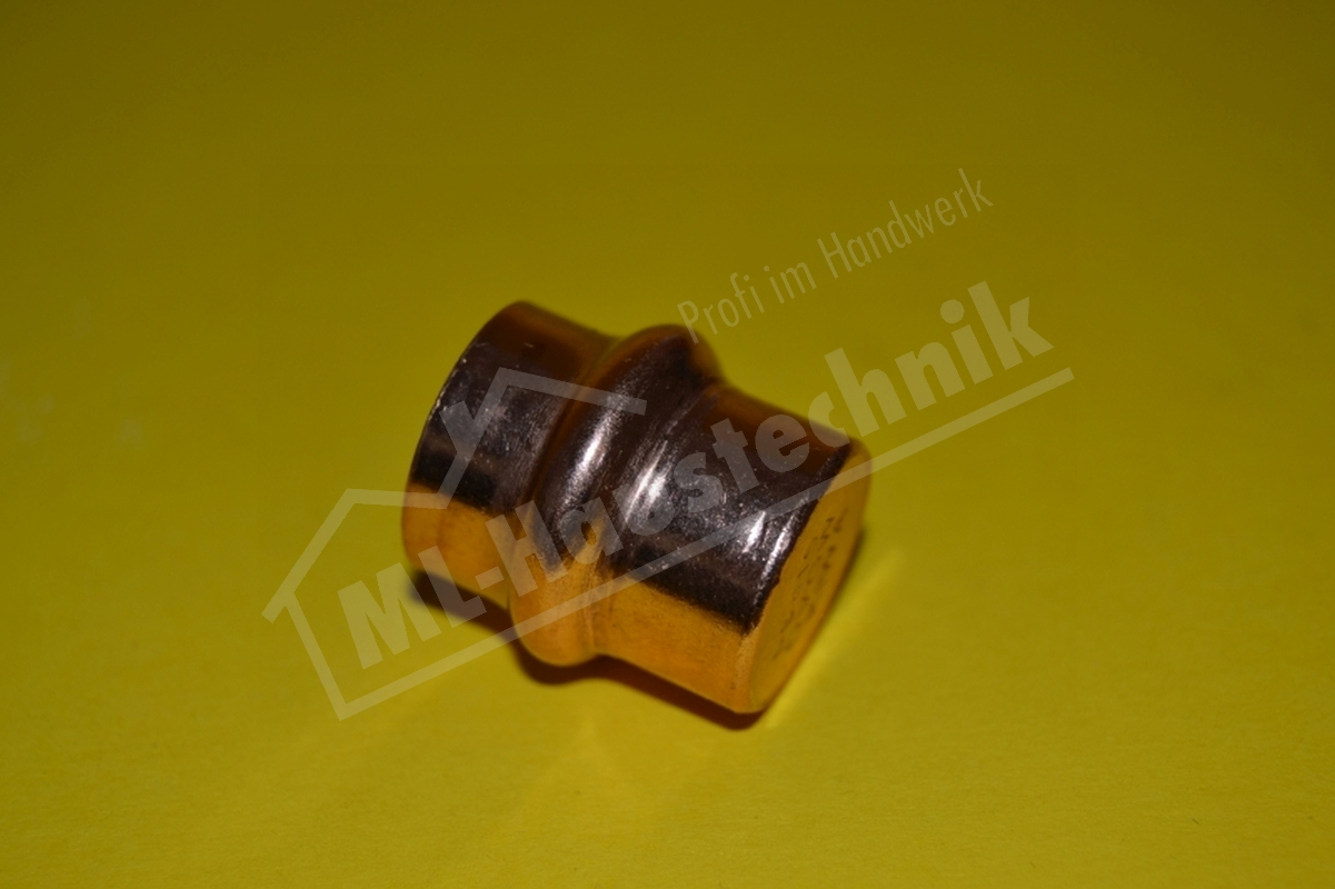 Press Fitting P5301 Kupfer Verschluss-Kappe 12-15-18-22-28-35-42-54 Pressfitting