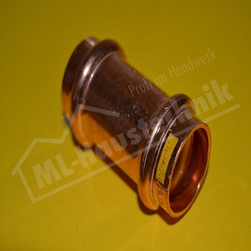 Gas Press Fitting PG5270 Kupfer Muffe 15-18-22-28-35-42-54 Kupfer Pressfitting V