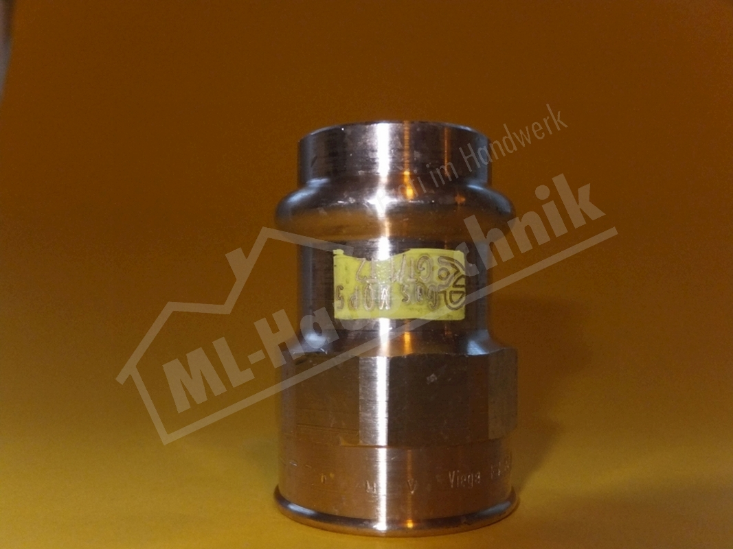 Viega press Prestabo C-Stahl verzinkt T-Stück reduziert 15-18-22-28-35-42-54