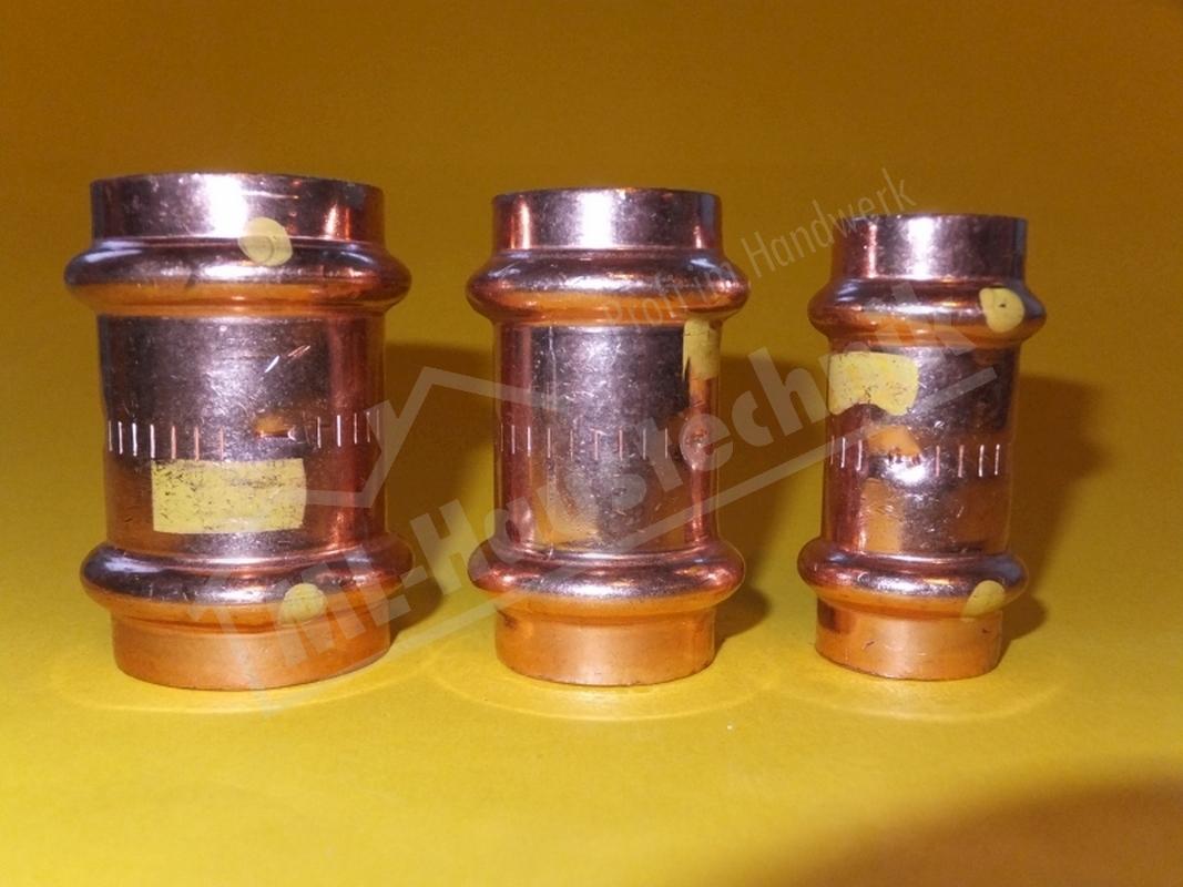 Pressfitting Kupfer Viega Profipress Übergangsmuffe Innengewinde 12-54mm