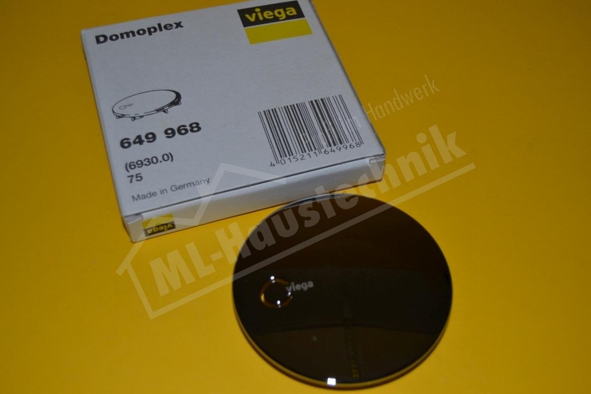 Viega Abdeckhaube für Domoplex Ablauf d= 75 mm Nr. 649968 Abdeckung Kappe