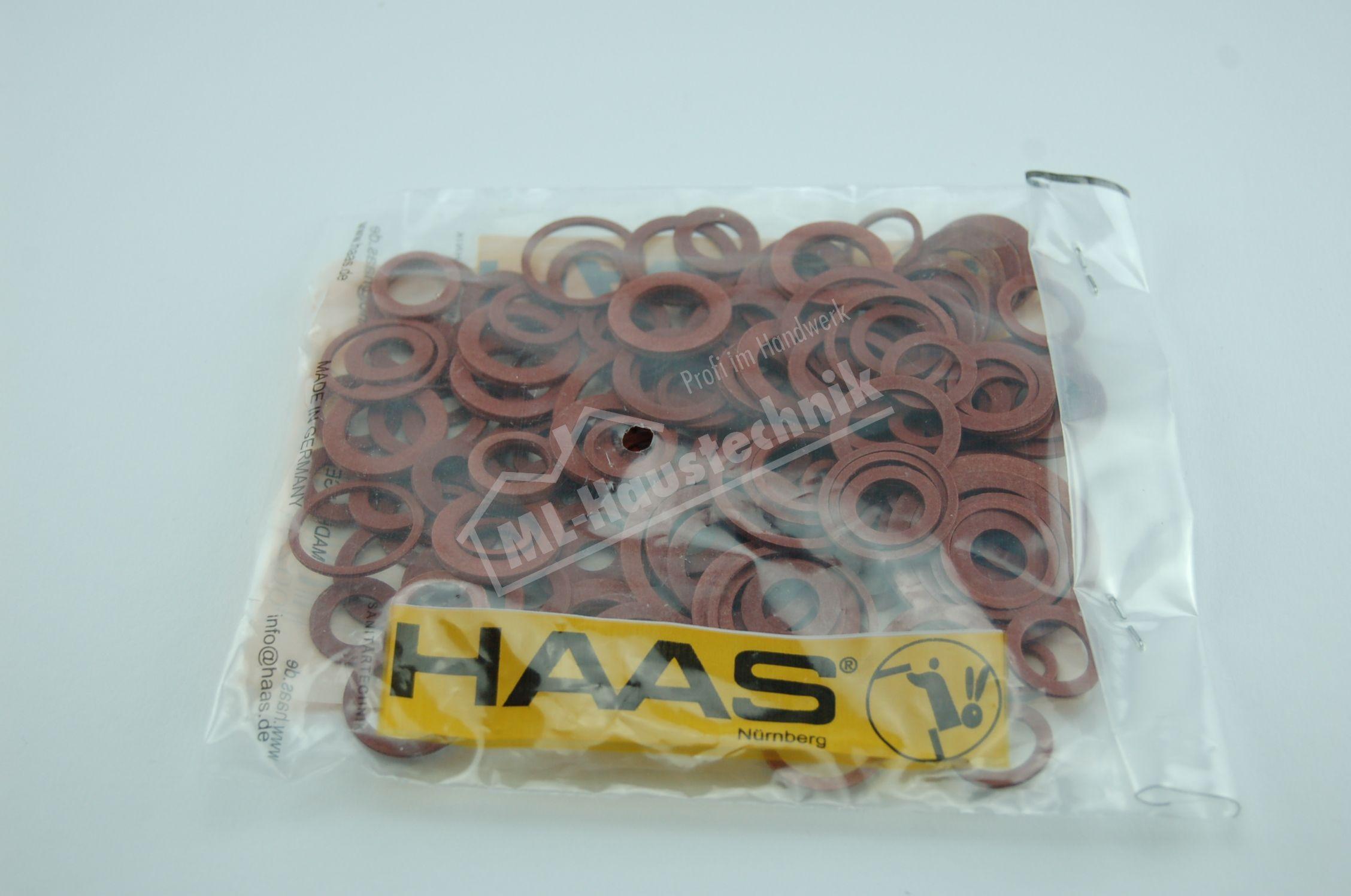 Haas Dichtung Set Dichtungsring - Sortiment FIeber Dichtringe Dichtungen 4603