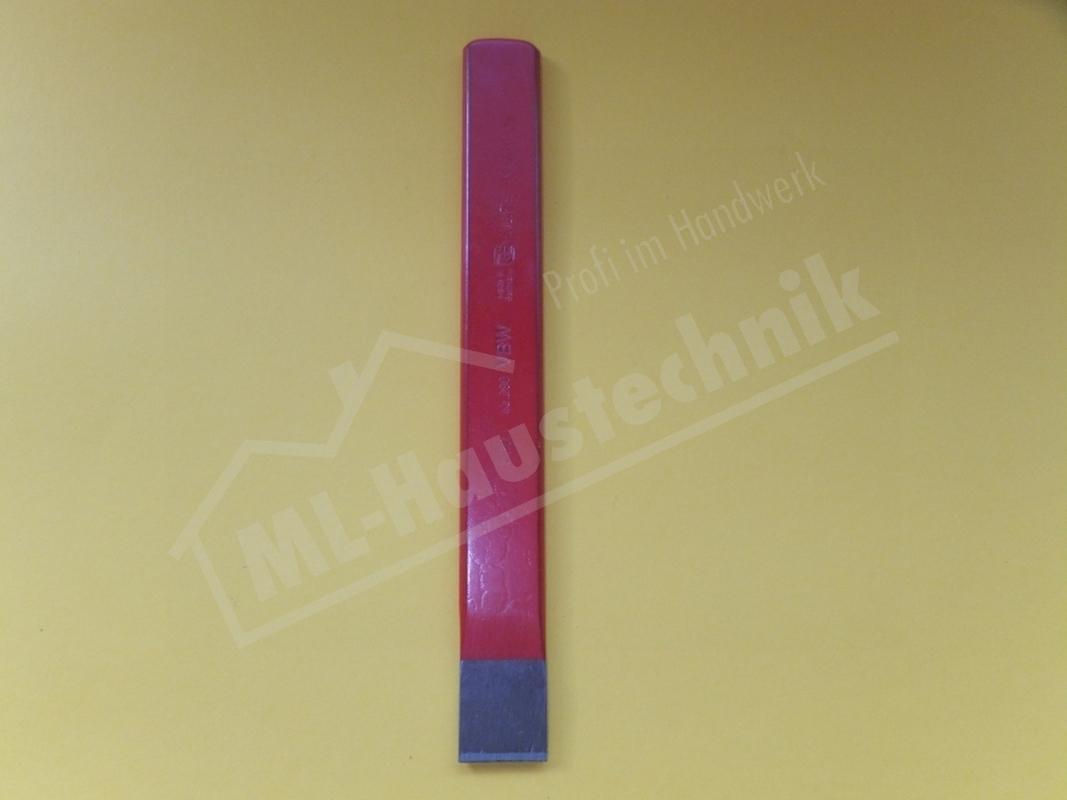 Elektrikermeissel 10x200mm aus vierkantigem Stahl 30298 Meisel