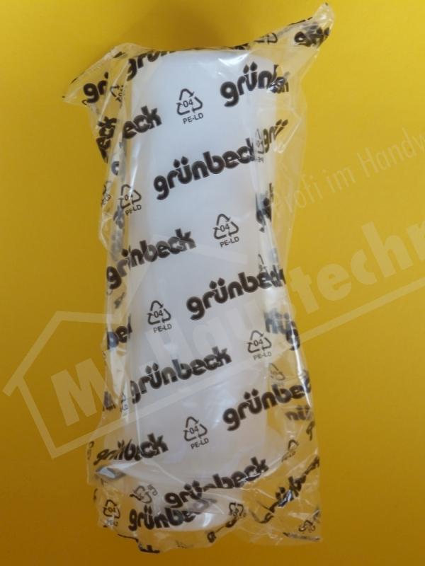 """Grünbeck Filterkerzen GENO 1"""" 0.08mm 2 Stk mit Schutzglocke u. 1 Dichtung"""