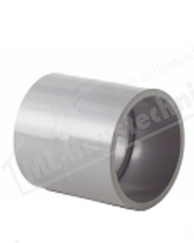 PVC Muffe 90 mm Fittinge