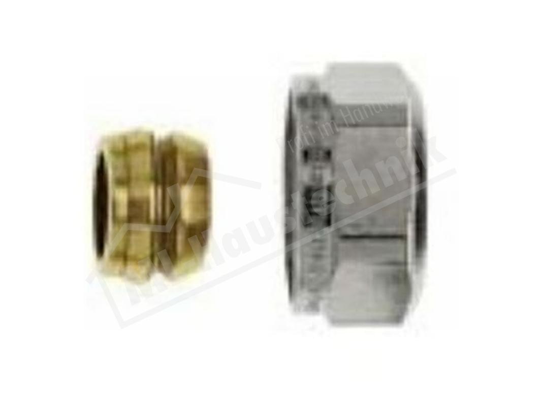 3800-15.351 Heimeier Klemmverschraubung 15 mm vernickelt M24 x 1.5 mm IG