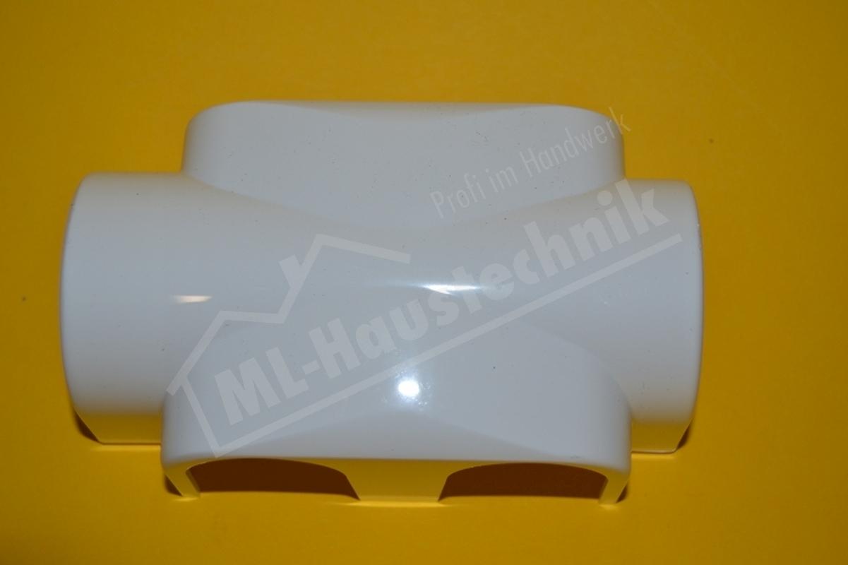 3850-10.553 Kunststoff-Verkleidung Heimeier MultiLux f.Eck- und Durchgangsform weiss