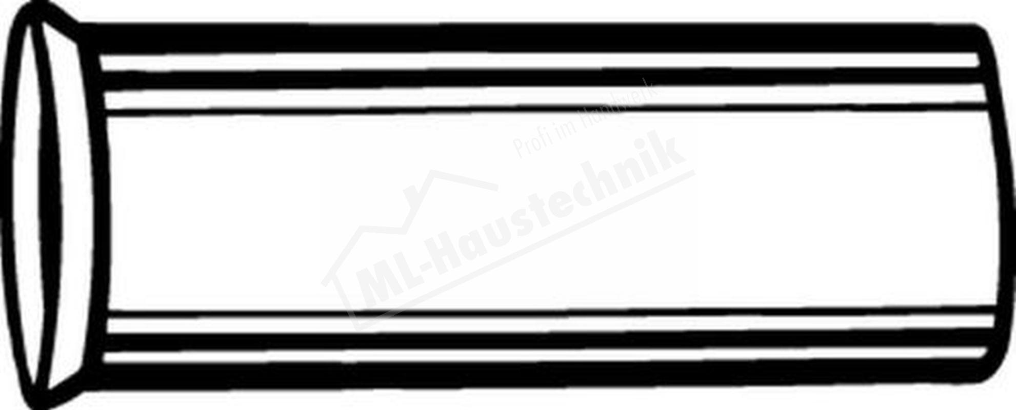 1300-15.170 Heimeier Stützhülse für Rohr 15mm
