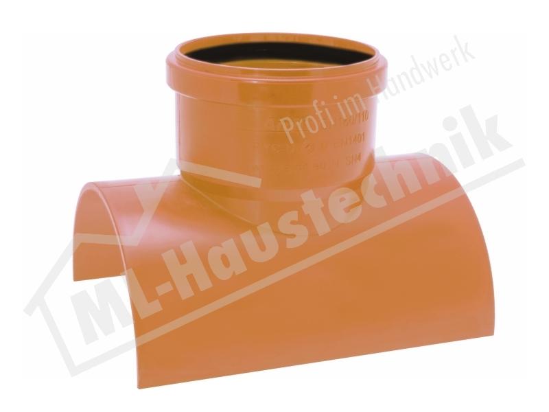 AIRFIT Klebeabzweig 90 Grad DN 160 x 110   aus PVC-U