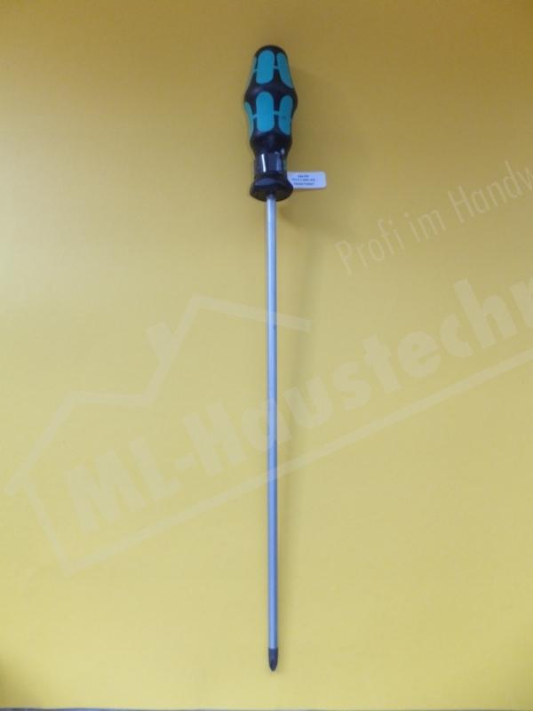 Wera Kreuzschlitz Schraubendreher PH2 Kreuz 300mm mit 3 Komponentengriff