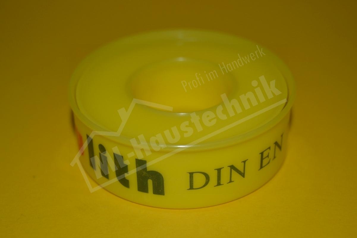 Teflonband PTFE Dichtband nach DIN-EN 751-3 für Grobgewinde bzw. Fitting Gewinde
