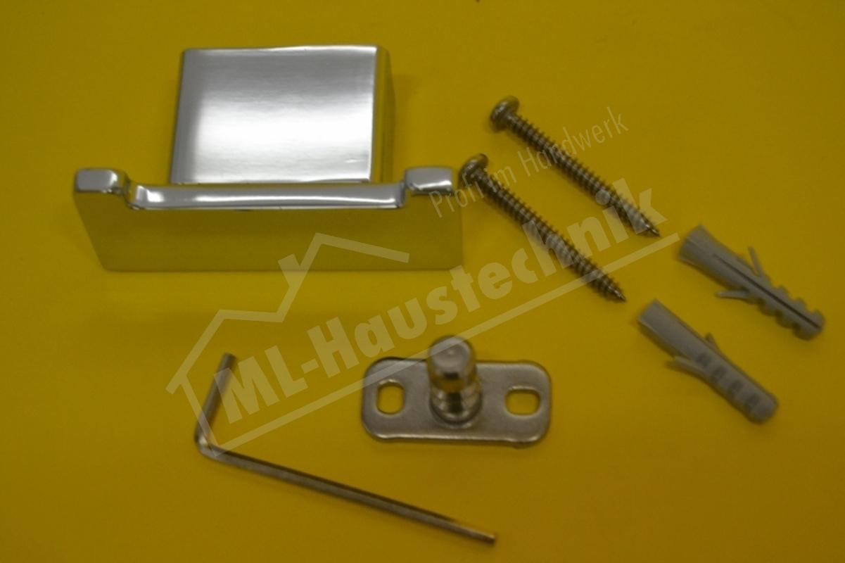 Emco Loft Doppelhaken Haken Handtuchhaken Doppelt 057500102