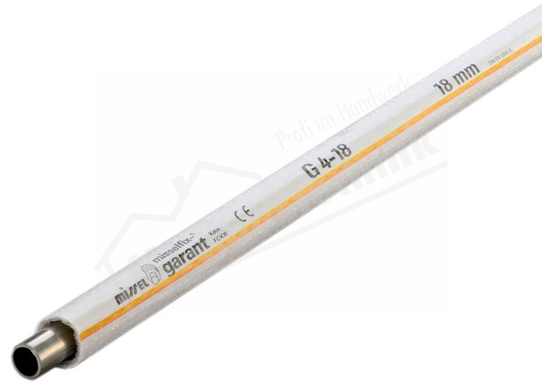 Schlauchisolierung Misselfix-Garant G 3/8 ( Cu 18mm) geschlossen 10m