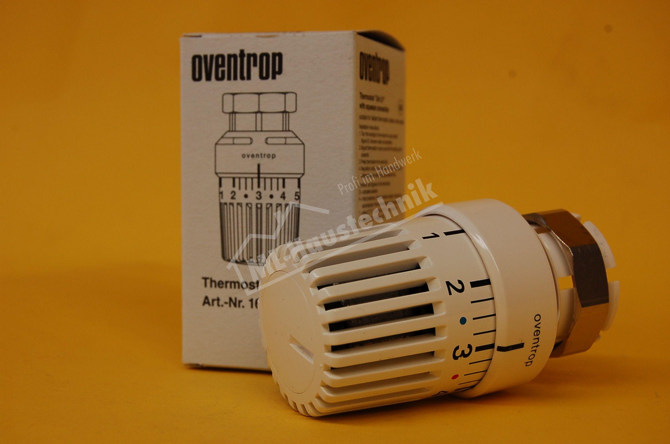1616001 Oventrop Thermostat Uni LV weiss mit Flüssigfühler Thermostatkopf