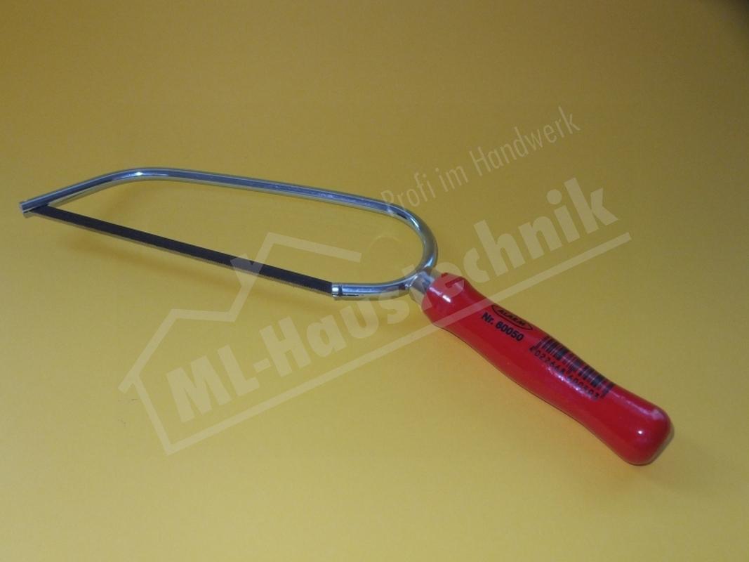 Puk Säge Taschensäge mit Holzheft Eisensäge Puksäge Universalsäge