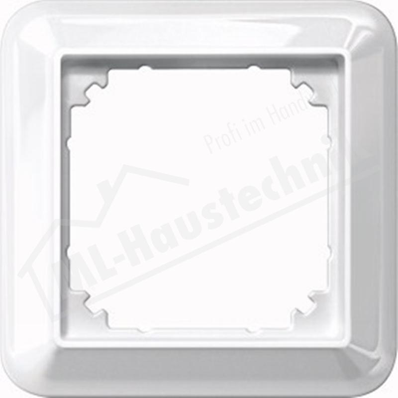 Merten 388119 Rahmen 1-fach ATELIER-M polarweisss glänzend