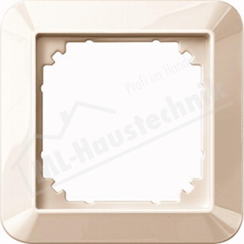 Merten 389144 Rahmen 1-fach 1-M weiss glänzend