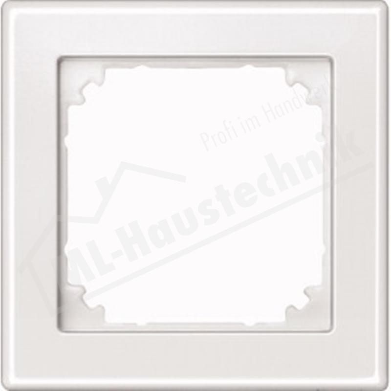 Merten 462119 Rahmen 1-fach polarweiss System M-Smart Duroplast kratzfest