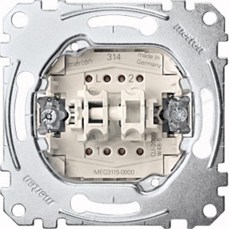 Merten MEG3115-0000 Serien-schalter-Eins. 1-polig 10A 250V AC