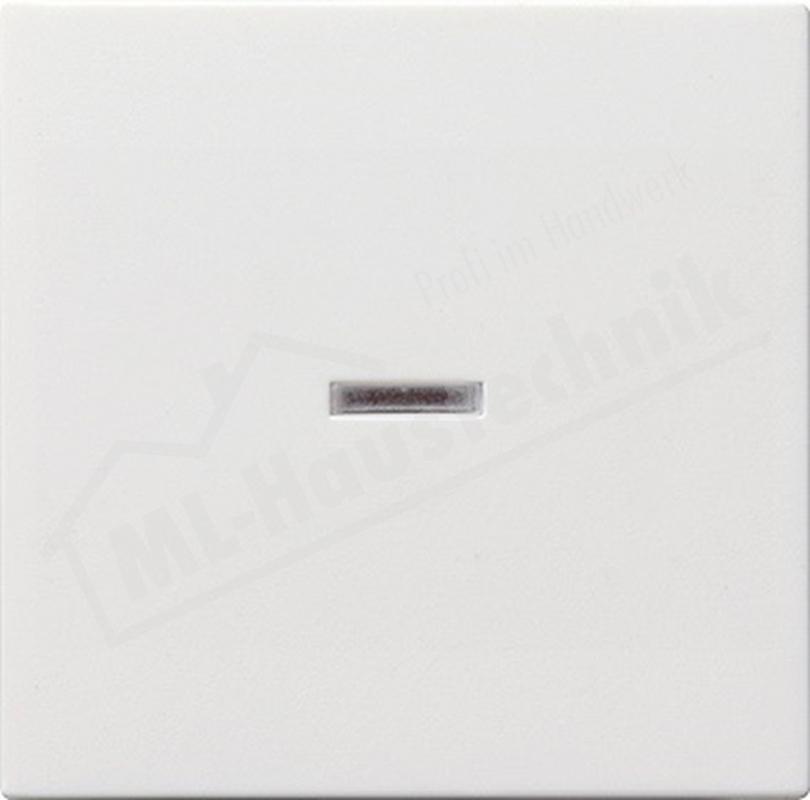 Gira 029003 Wippe mit Kontrollfenster System 55 reinweiss