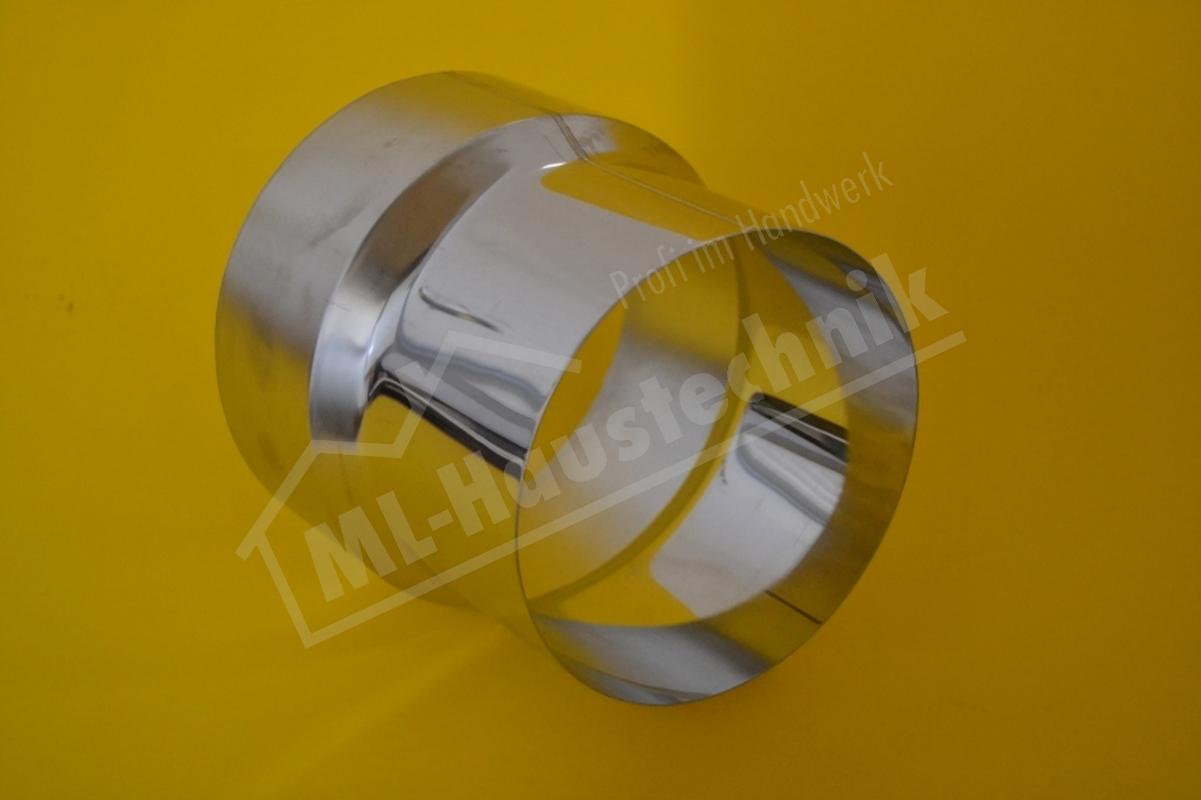 Abgasrohr Edelstahl Reduzierung 150mm-130mm