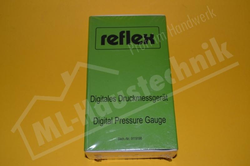 Reflex Digitales Vordruckprüfgerät Anzeigebereich bis ca. 9 bar 9119198