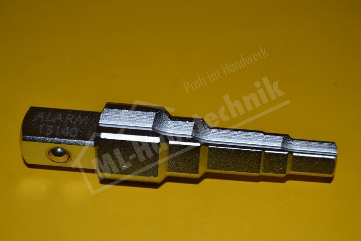 """Alarm Universal Stufenschlüssel 3/8"""" - 1""""  für alle Nippel Wurzelschlüssel"""