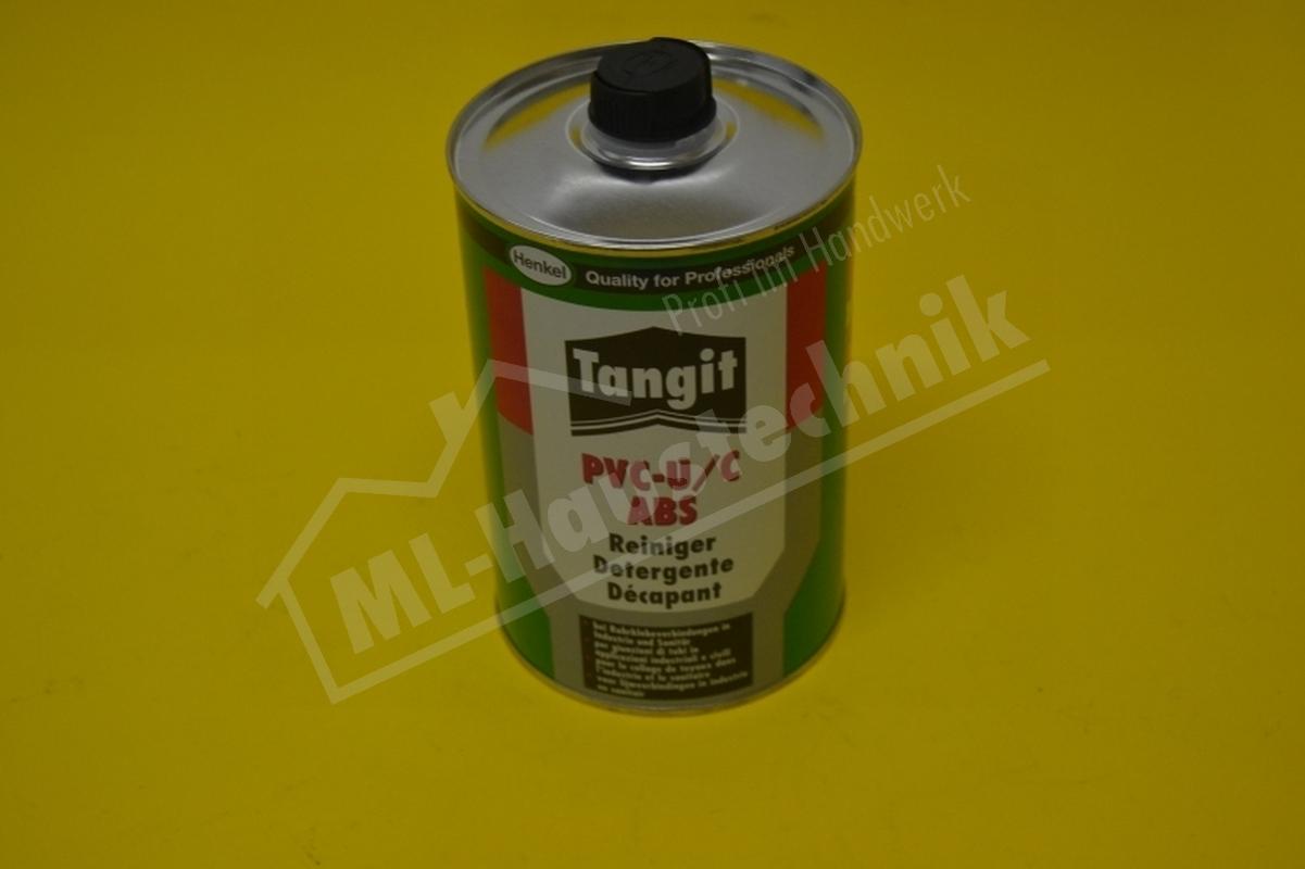 Reiniger Tangit für PVC-U / PVC-C und ABS Kunststoffreiniger 1000 ml