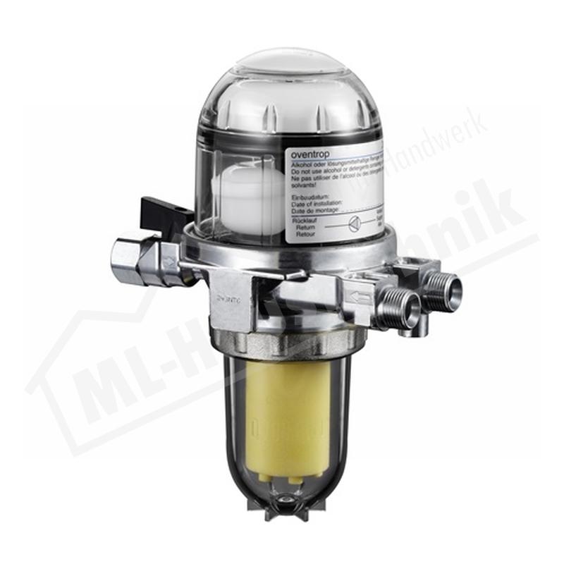 2142732 Oventrop Ölfilter / Entlüfter Toc Duo 3 SIKU 25-40my mit Absperrung