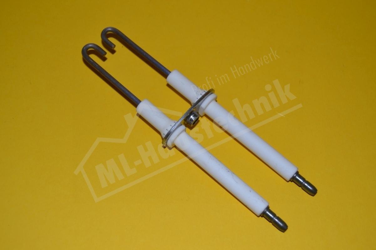 Zündelektrode Doppelzündelektrode Buderus BE, BE-A 17-34KW, Typ 4 ( 3 ) L34