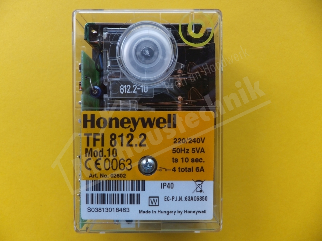 Gasfeuerungsautomat TFI 812.2 Modell 10 Honeywell Satronic