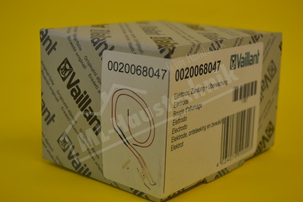 Vaillant Zünd - und Überwachung Elektrode 0020068047