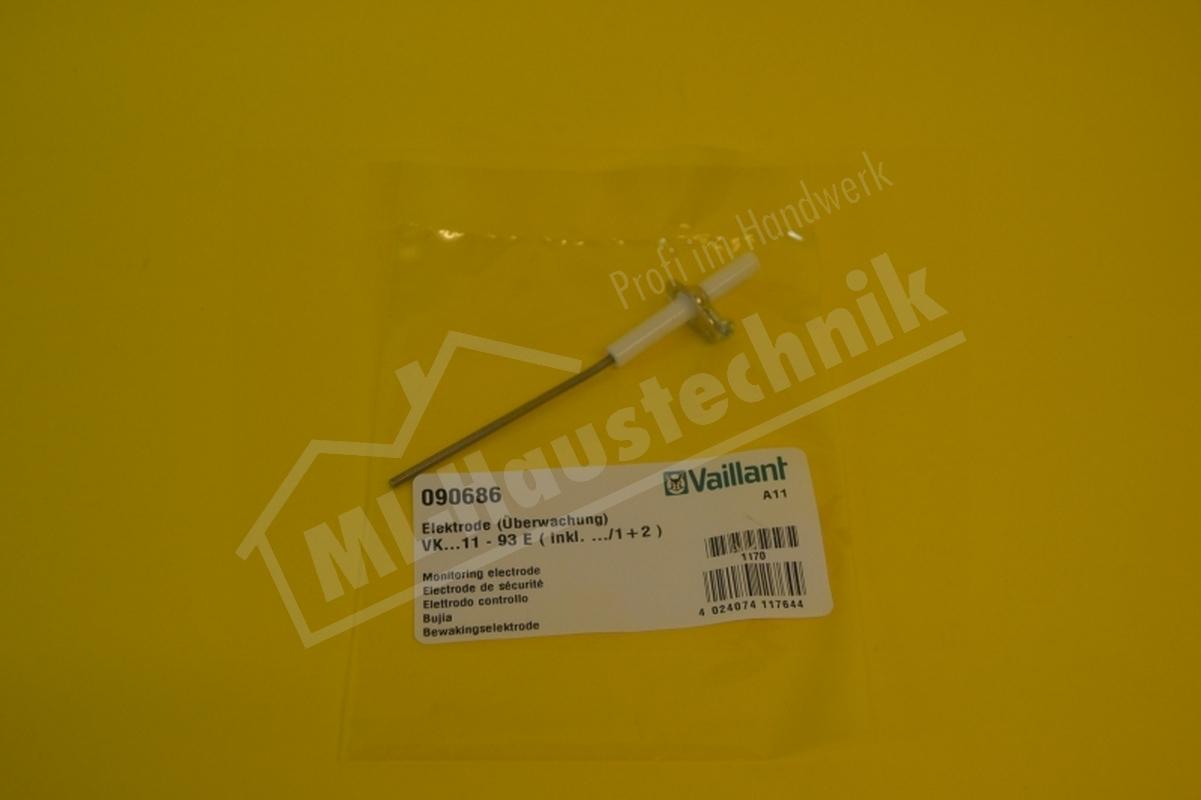 Vaillant Überwachungselektrode für VK Kessel 090686 Überwachung Elektrode