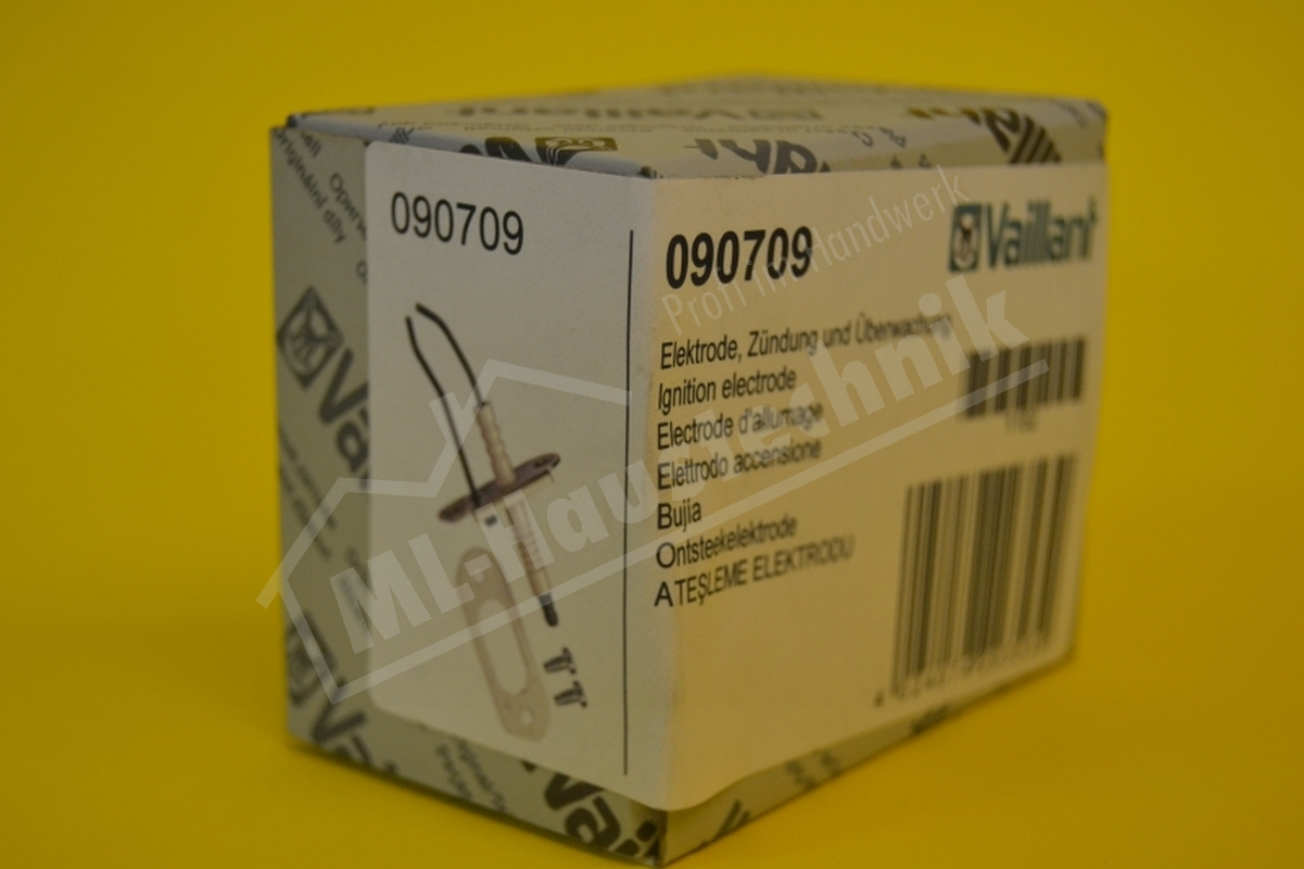 Vaillant Zündelektrode 090709 VC , VCW Zünd Elektrode