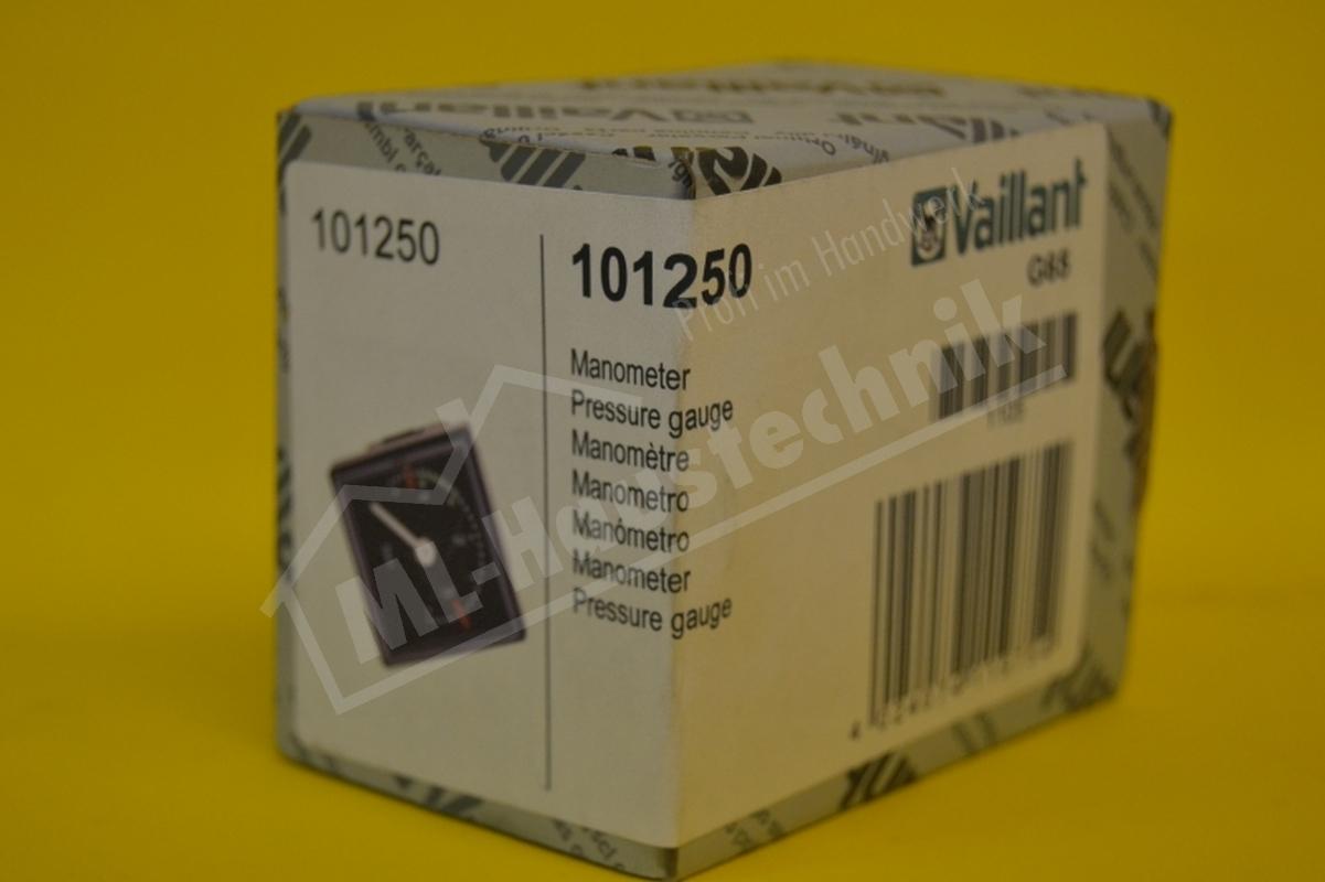 Vaillant Manometer 101250 VC  , VCW Druckanzeige