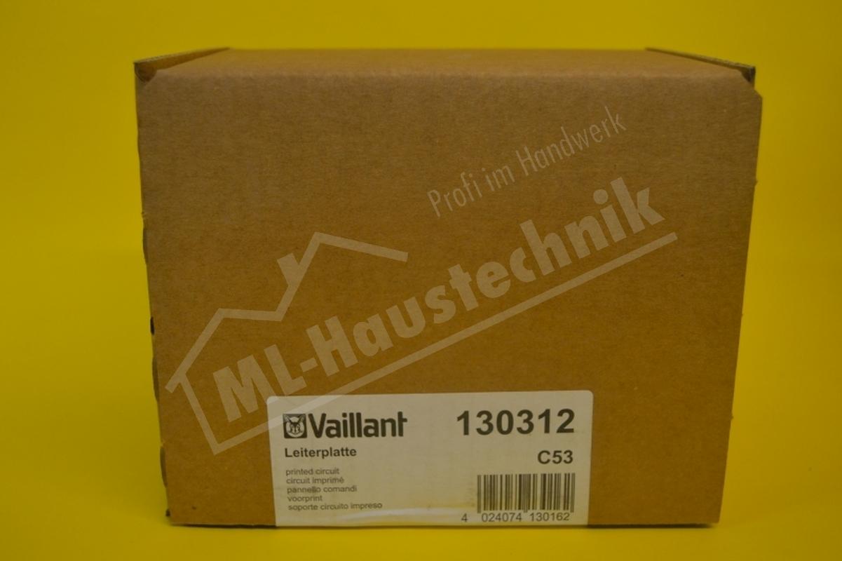 130312 Vaillant Leiterplatte für VCW 180-280 E Hybrid