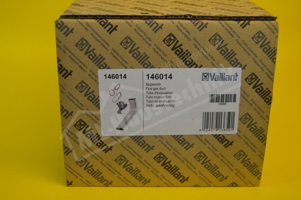 146014 Vaillant Abgasrohr Ecotec 6396