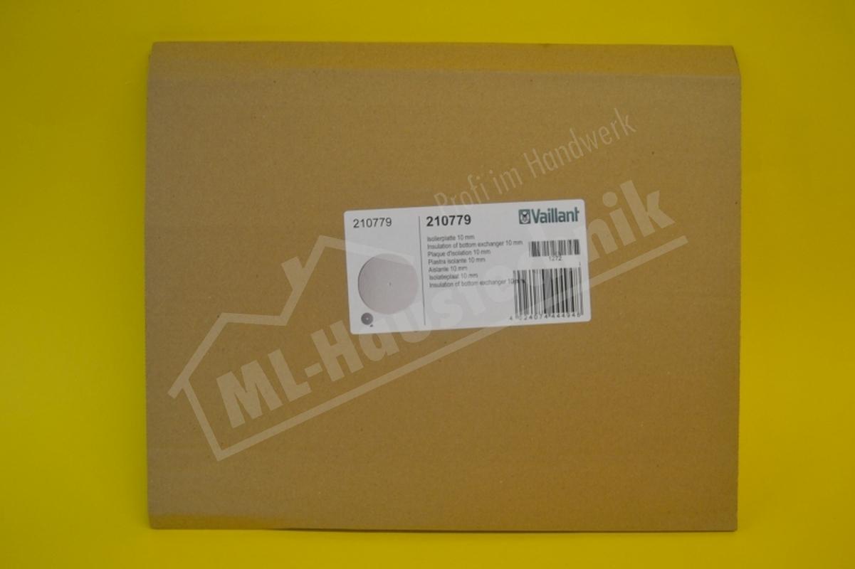 210779 Vaillant Isolierplatte komplett VC/ VCW 126-246/ VSC PWT