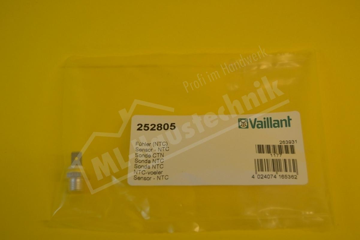 252805 Vaillant NTC-Fühler für VC10-26/ VCW T3 W/ 18-26/ 110-242 E