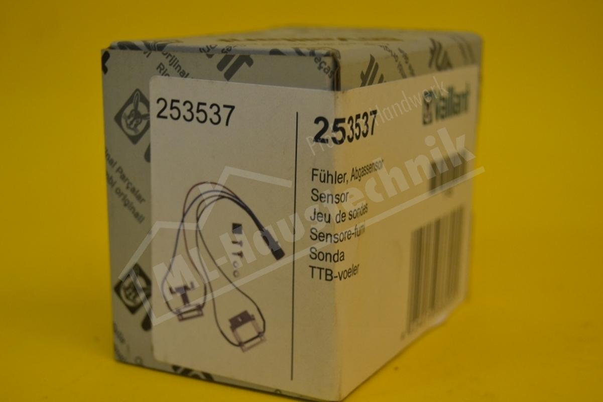 253537 Vaillant Fühler komplett Abgassensor